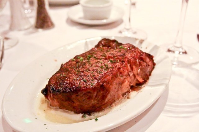 Ribeye steak at Ruth's Chris Steakhouse