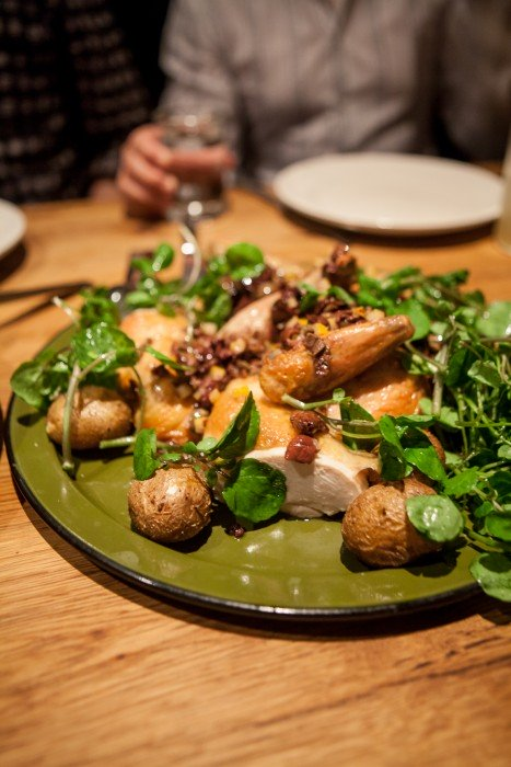 Roasted Chicken at Bar Agricole