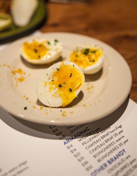 Bottarga Egg at Bar Agricole