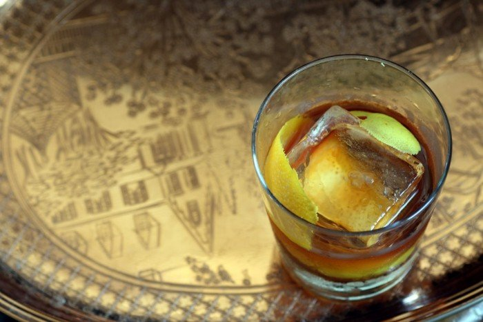 Old Fashioned at Bar Agricole
