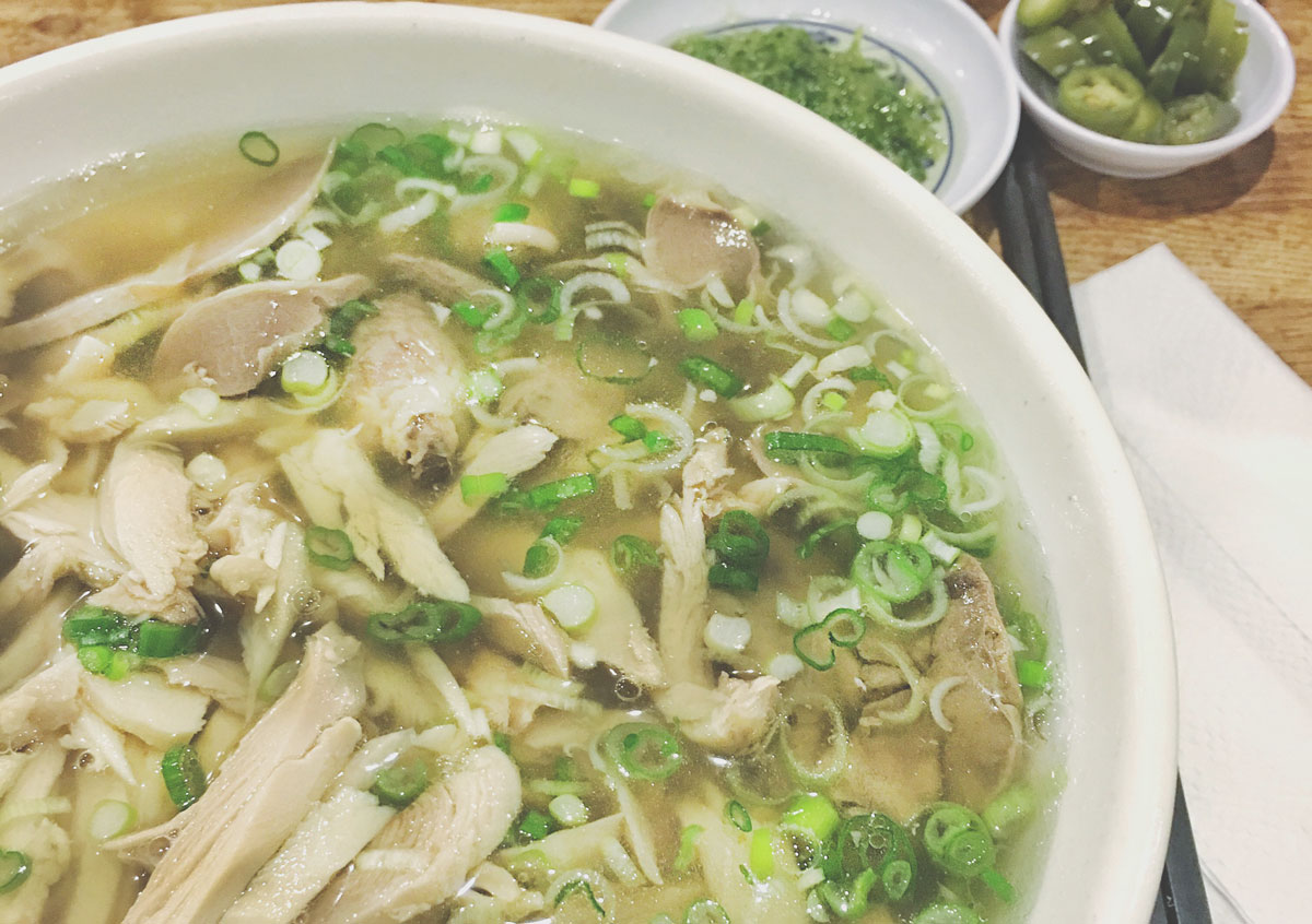 Chicken Pho in Oakland