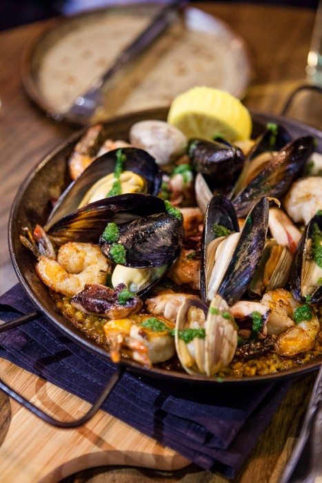Beso San Francisco -- the Perfect Paella