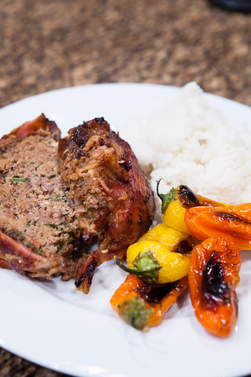 The Best Bacon-Wrapped Meatloaf Recipe