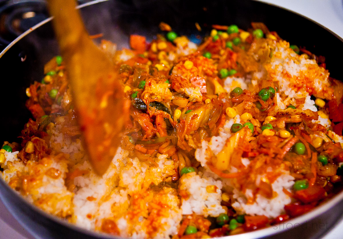 Always a Treat: Kimchi Fried Rice Recipe – San Francisco Food