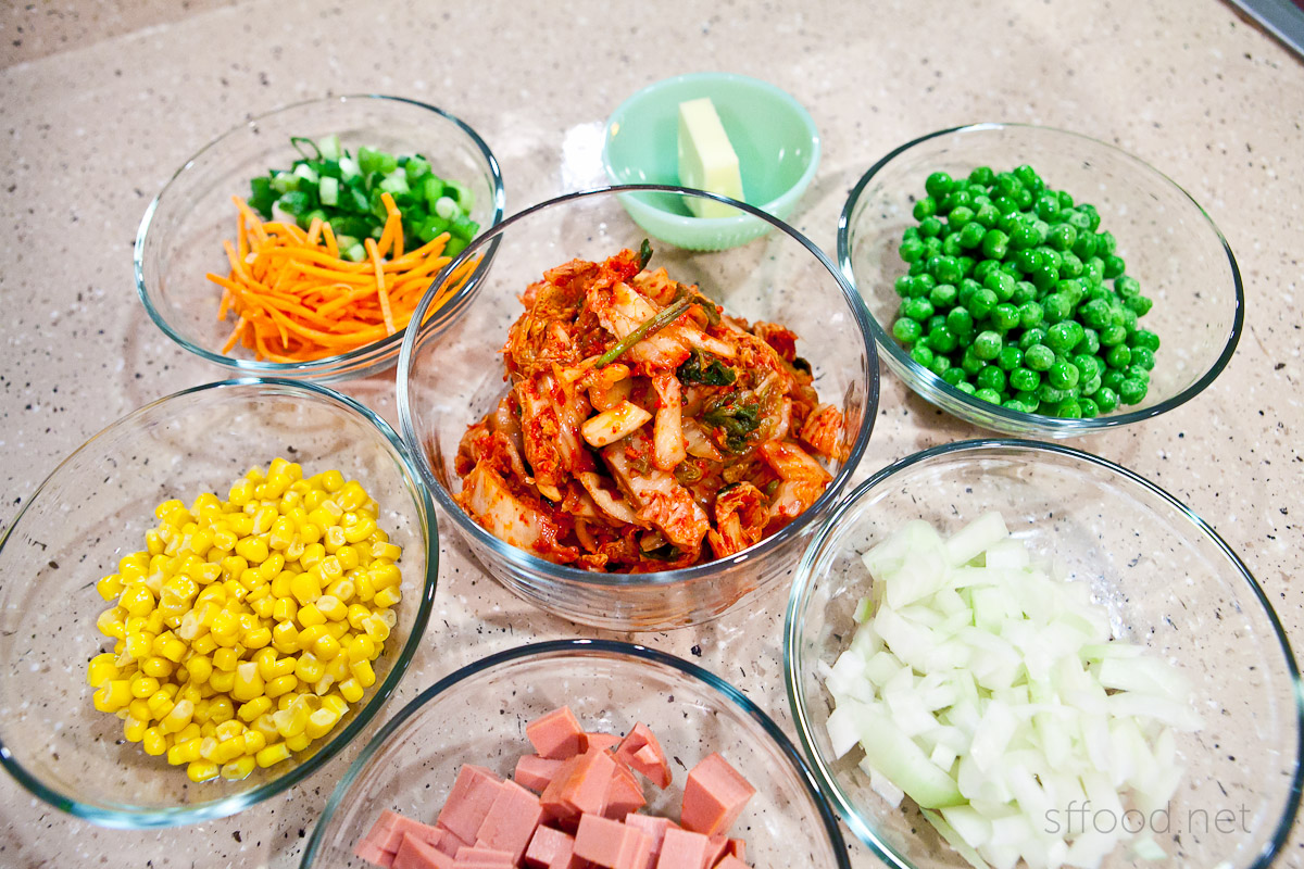 kimchi fried rice ingredients