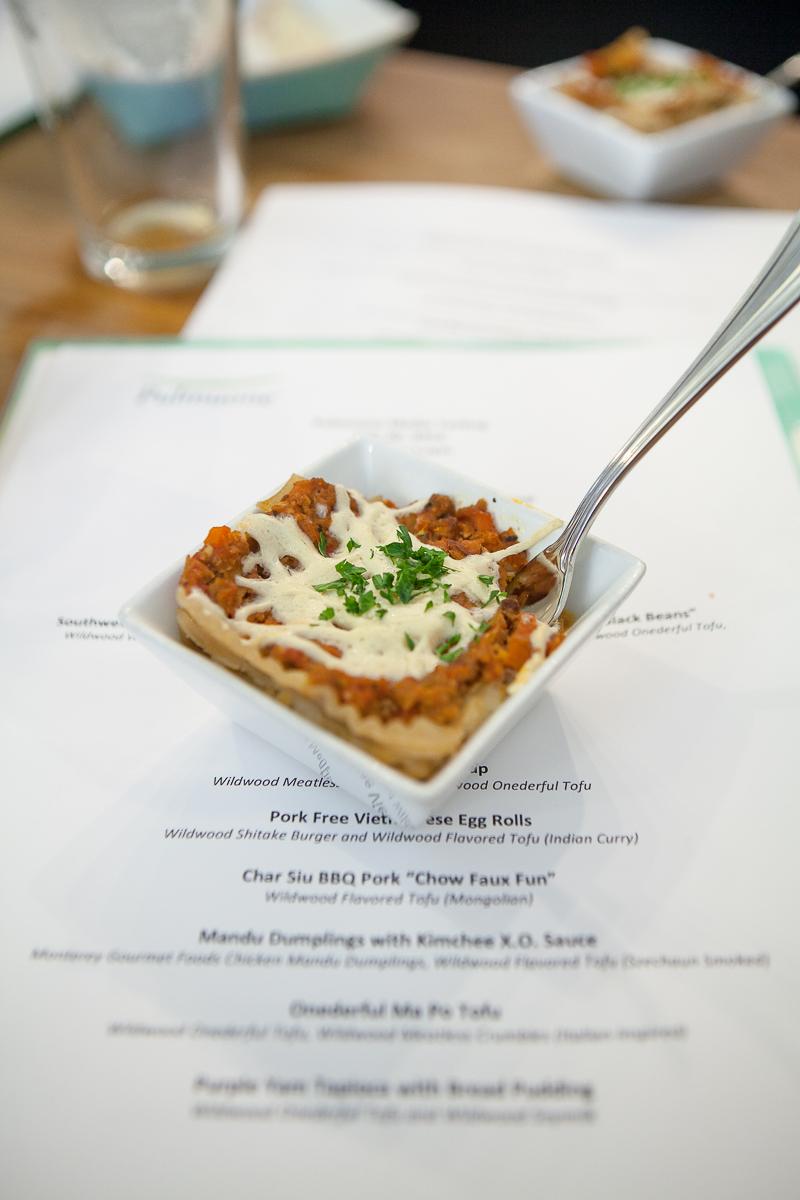Wildwood Meatless Crumbles Lasagna