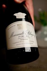 Outstanding white burgundy.