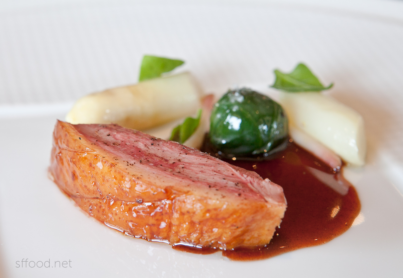 the french laundry duck course